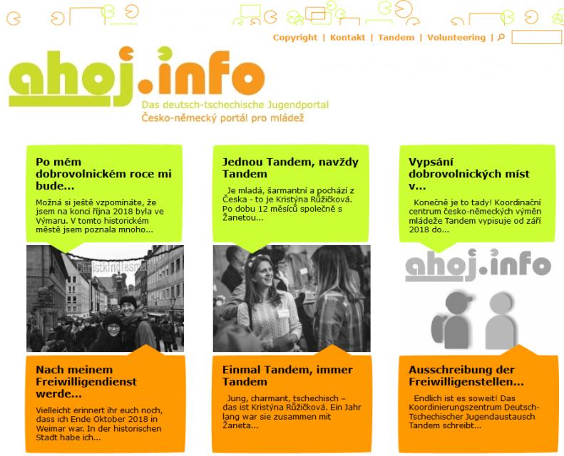 Evropským dobrovolníkem u ahoj.info